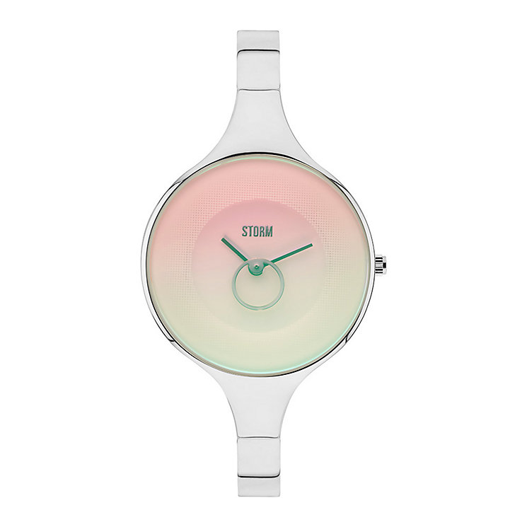 STORM Ola Ladies' Pink Dial Stainless Steel Bangle Watch - Product number 3584313