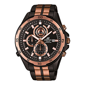 Casio Edifice Men's Ion-plated Chrome Bracelet Watch - Product number 3588629