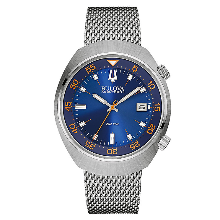 Bulova Lobster men's stainless steel bracelet watch - Product number 3588890