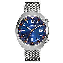 Bulova Lobster men's stainless steel bracelet watch - Product number 3588890