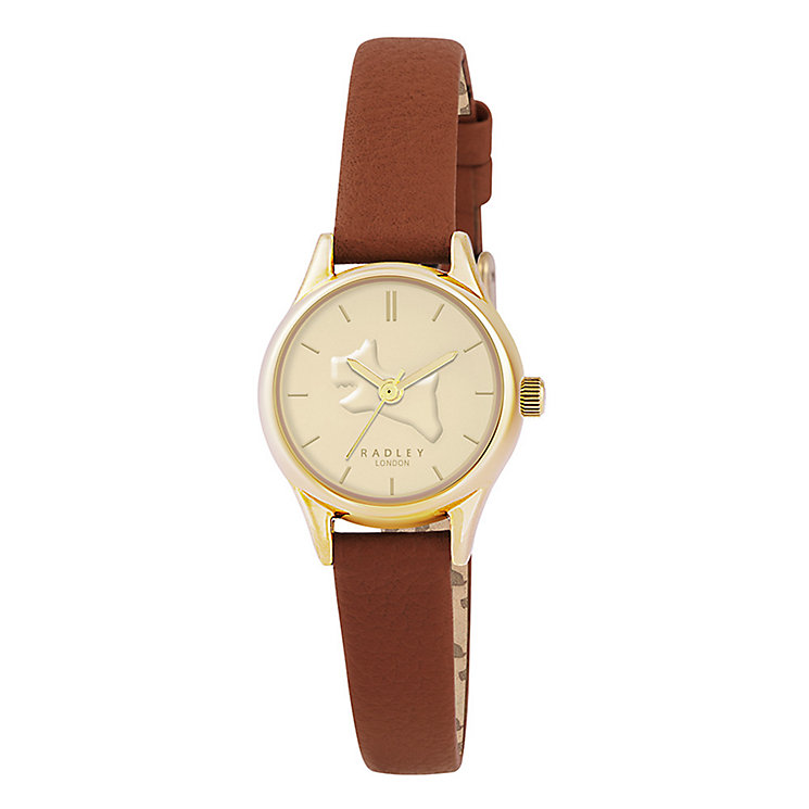 Radley On The Run Ladies' Tan Leather Strap Watch - Product number 3589013