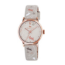 Radley Meadow Ladies' Vanilla Leather Strap Watch - Product number 3589226