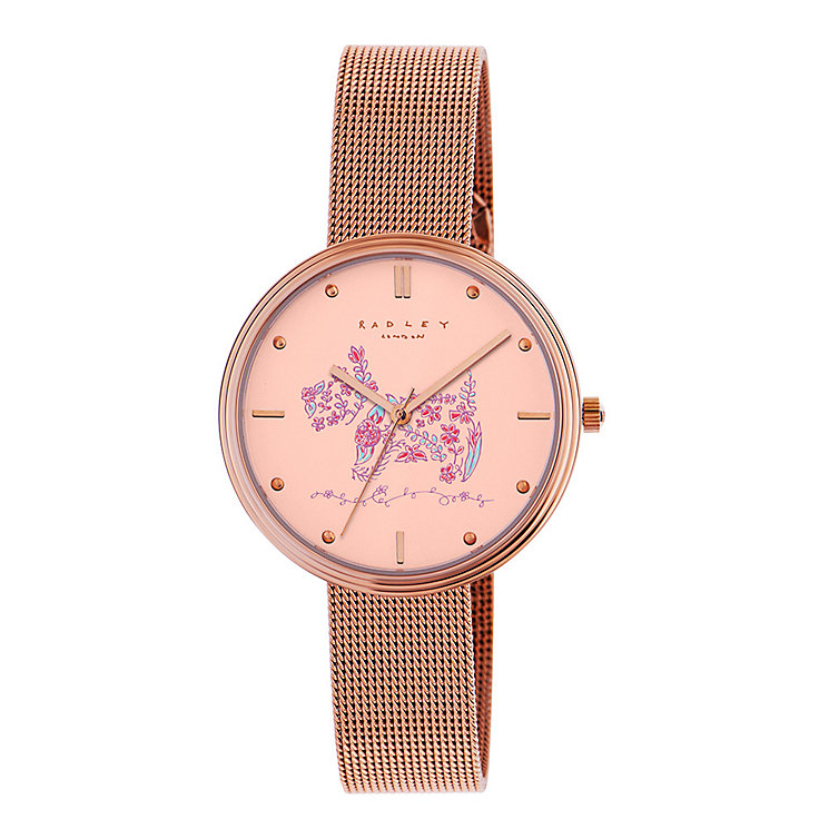 Radley Rosemary Gardens Ladies' Mesh Bracelet Watch - Product number 3589498