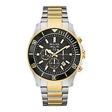 Bulova Marine Men's Two Colour Bracelet Watch - Product number 3590046