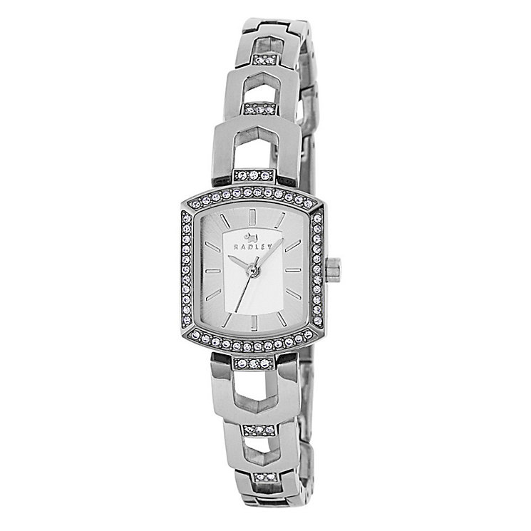 Radley Ladies' Stone Set Stainless Steel Bracelet Watch - Product number 3590062