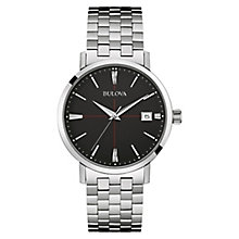 Bulova Aerojet Men's Stainless Steel Bracelet Watch - Product number 3590100