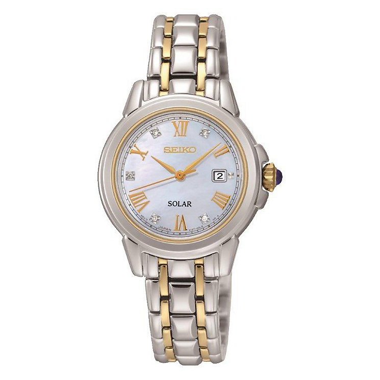 Sekio Ladies' Solar Mother Of Pearl Watch - Product number 3590402