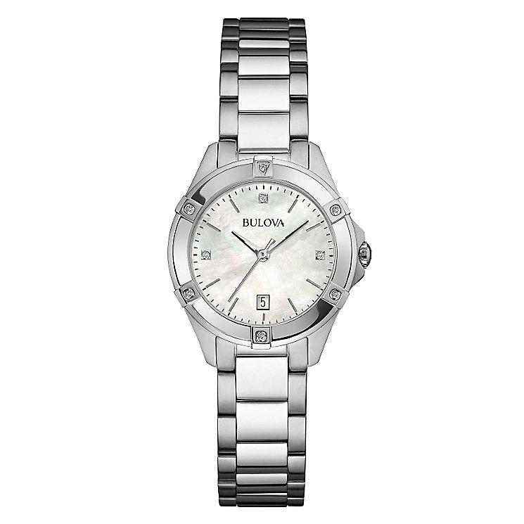 Bulova Diamond Gallery ladies' bracelet watch - Product number 3592928