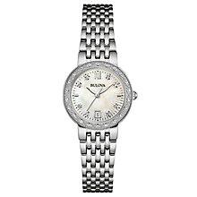 Bulova Diamond Gallery ladies' stainless steel watch - Product number 3593037