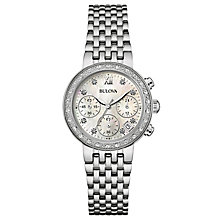 Bulova Diamond Gallery ladies' stainless steel watch - Product number 3593606