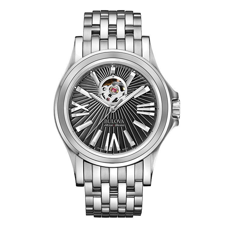 Bulova Kirkwood men's stainless steel bracelet watch - Product number 3595447