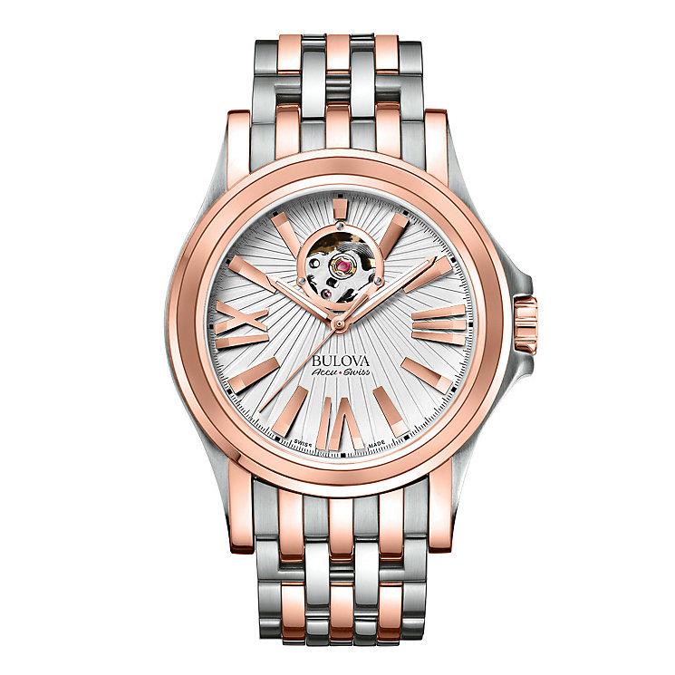 Bulova Kirkwood men's two colour bracelet watch - Product number 3595471