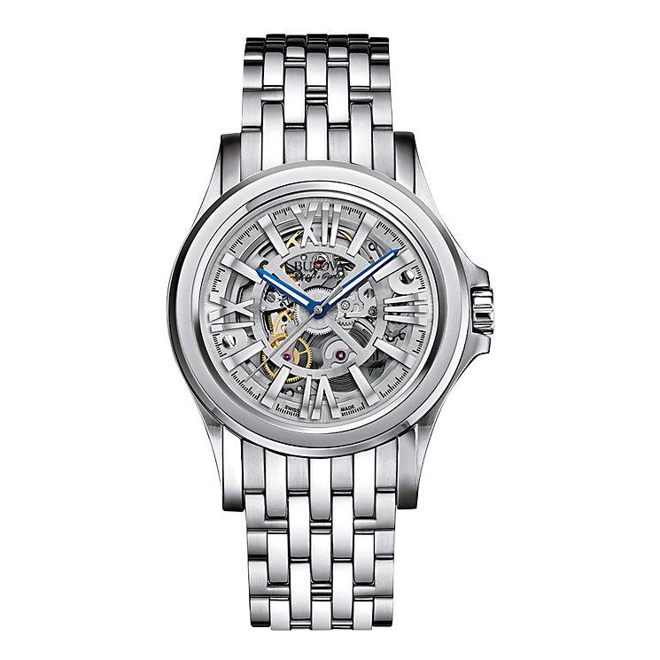 Bulova Kirkwood men's stainless steel bracelet watch - Product number 3595501
