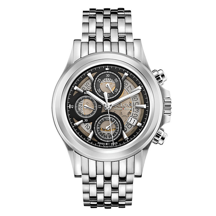 Bulova Kirkwood men's stainless steel bracelet watch - Product number 3595528