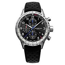 Raymond Weil Men's Titanium Black Strap Watch - Product number 3595579