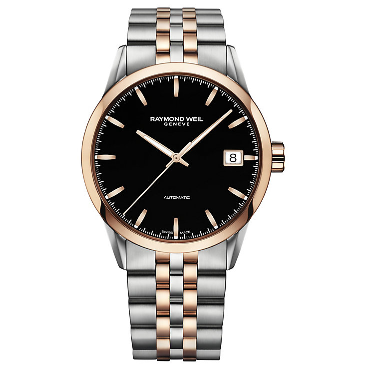 Raymond Weil Freelancer men's two colour bracelet watch - Product number 3595641