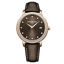 Raymond Weil Toccata Ladies Rose Gold-Plated Strap Watch - Product number 3595781