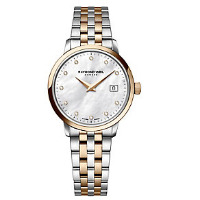 Raymond Weil Toccata ladies' two colour bracelet watch - Product number 3595803