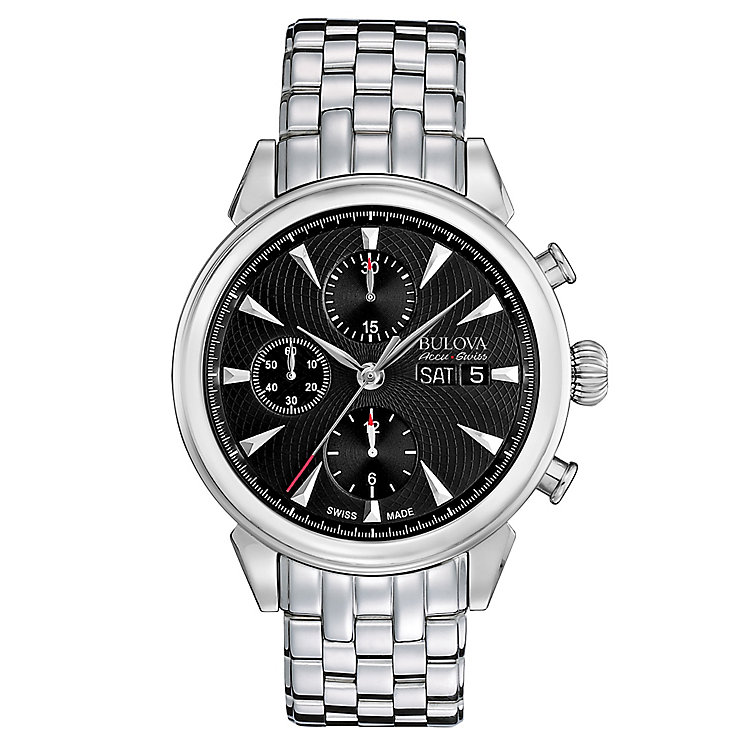 Bulova Gemini men's stainless steel bracelet watch - Product number 3595900