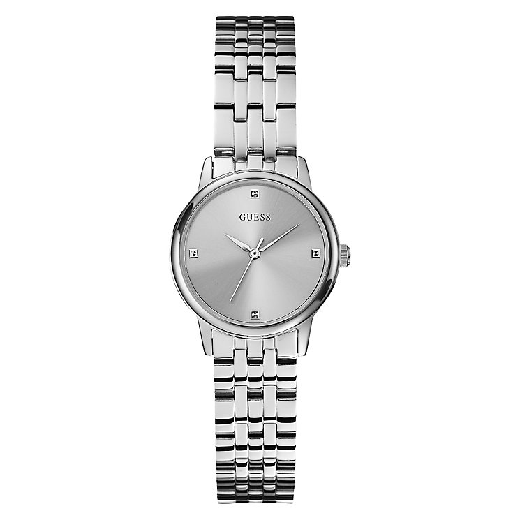 Guess Ladies' Stainless Steel Bracelet Watch | H.Samuel