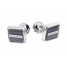 Hugo Boss Robert Square Grey Cufflink - Product number 3601072