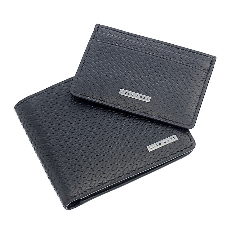 Hugo Boss Giarko Wallet and Card Holder Gift Set - Product number 3601099