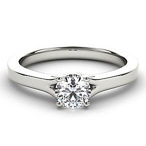 Arctic Brilliance 18ct white gold half carat diamond ring - Product number 3601684