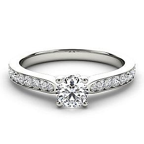 Arctic Brilliance 18ct white gold 0.66ct diamond ring - Product number 3602478
