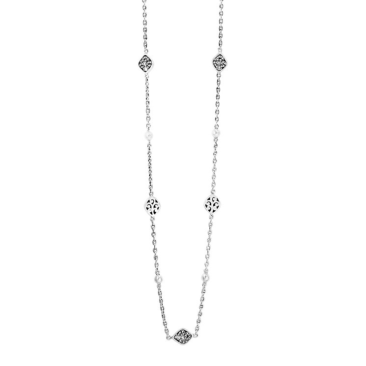 Lois Hill sterling silver 37 inch necklace - Product number 3612104