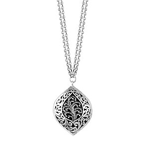 Lois Hill sterling silver 16.5 inch double chain pendant - Product number 3612112