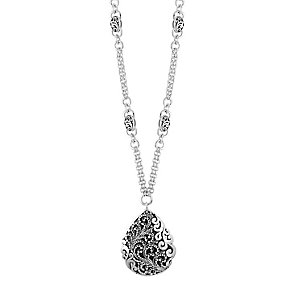 Lois Hill sterling silver 17 inch pendant necklace - Product number 3612295