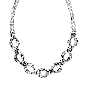Lois Hill sterling silver 17 inch two strand necklace - Product number 3612309