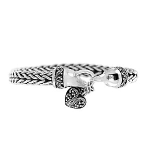 Lois Hill sterling silver Indian braid bracelet - Product number 3612481
