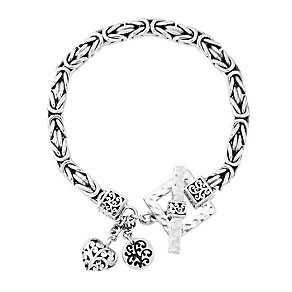 Lois Hill sterling silver box weave bracelet - Product number 3612635