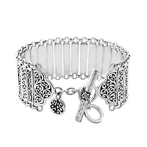 Lois Hill sterling silver 7.5 inch link bracelet - Product number 3612678