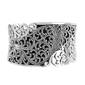 Lois Hill sterling silver large granulated cuff - Product number 3612716