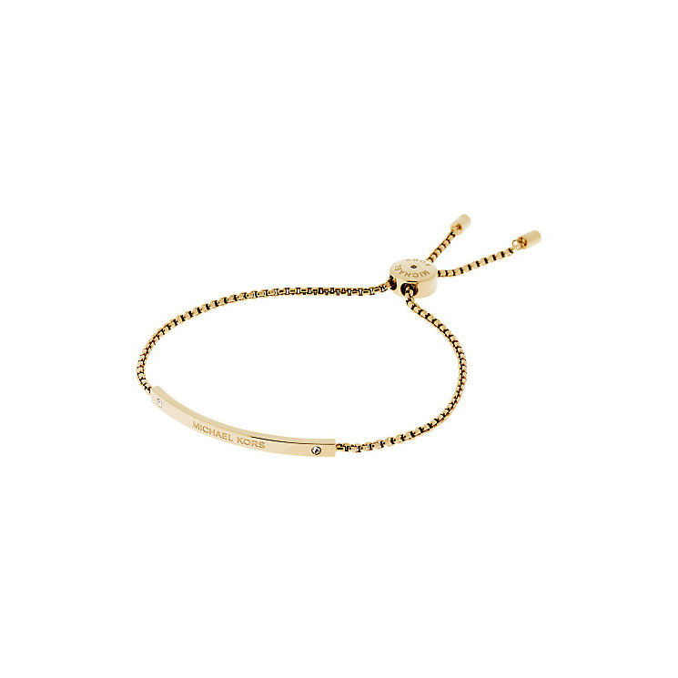 Michael Kors Gold Tone Logo Bracelet - Product number 3615502