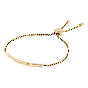 Michael Kors gold-plated logo bracelet - Product number 3615502