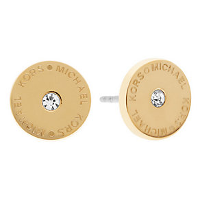 Michael Kors gold-plated logo stud earrings - Product number 3616649