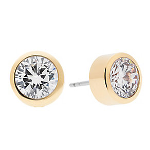 Michael Kors Park Avenue gold-plated pave stud earrings - Product number 3616967