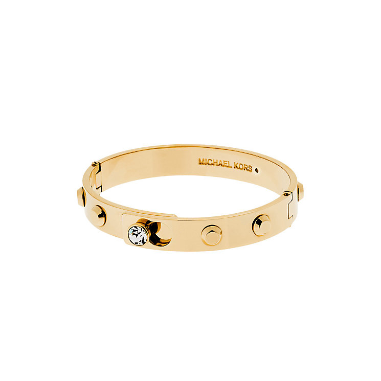 Michael Kors Park Avenue Gold Tone Stone Set bangle - Product number 3616983