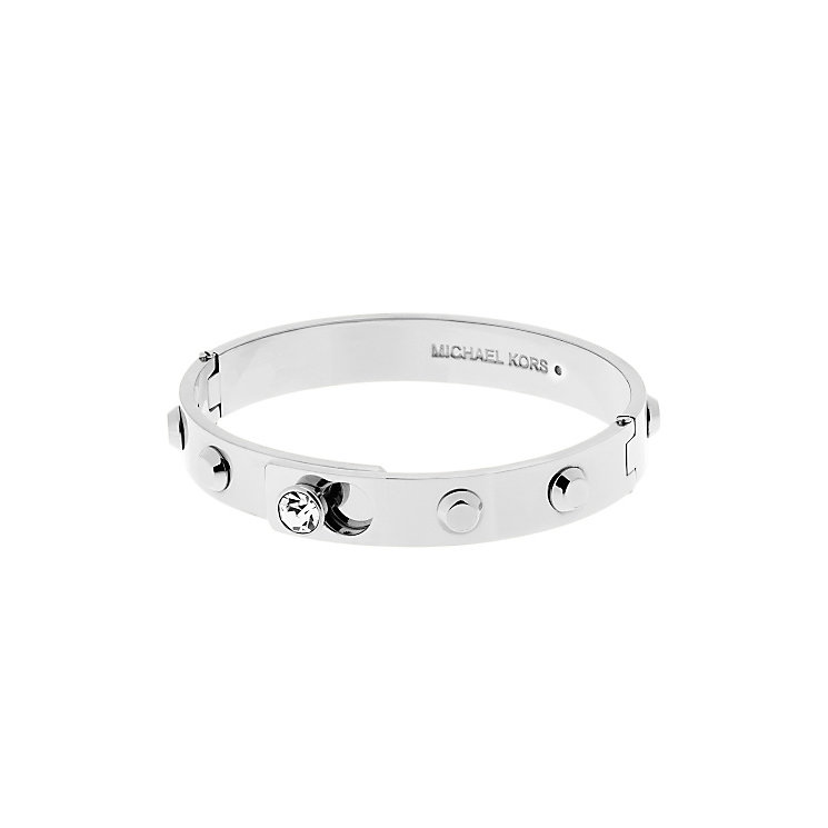Michael Kors Park Avenue Stainless Steel Stone Set bangle - Product number 3617009