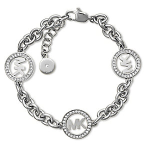 Michael Kors Fulton Stainless Steel Stone Set Bracelet - Product number 3617149