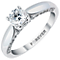 The Forever Diamond 18ct White Gold 1 Carat Solitaire Ring - Product number 3618307