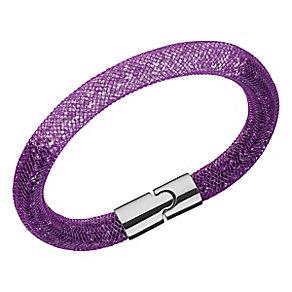 Swarovski Stardust purple gradient crystal bracelet size M - Product number 3622428