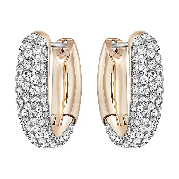 Swarovski Circlet small hoop earrings - Product number 3622436