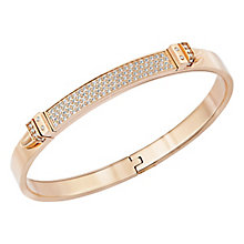 Swarovski Distinct rose gold PVD crystal bangle medium - Product number 3624153