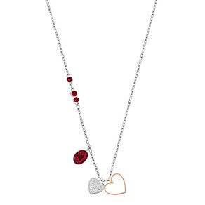 Swarovski Duo light siam crystal heart pendant - Product number 3624242