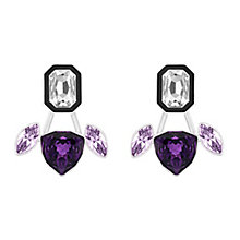 Swarovski Impulse purple crystal earring jackets - Product number 3625354