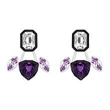 Swarovski Impulse purple crystal earring jackets - Product number 3625354